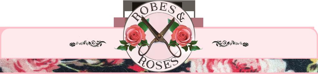 Robes et roses