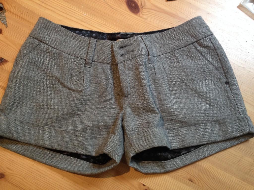 Shorts avec coffres