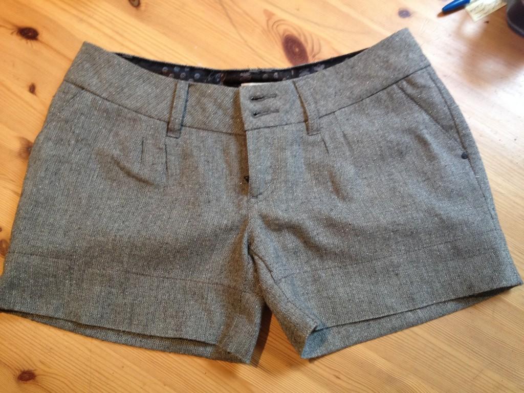Shorts sans coffres